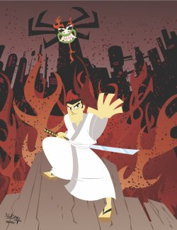 webstoodstupid:  Samurai Jack by ~SuperOotoro