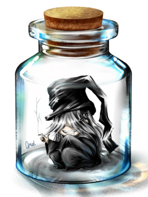 Undertaker in a Bottle by ~justalenore
