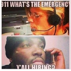 #LOL #Repost #911 #emergency needed this laugh