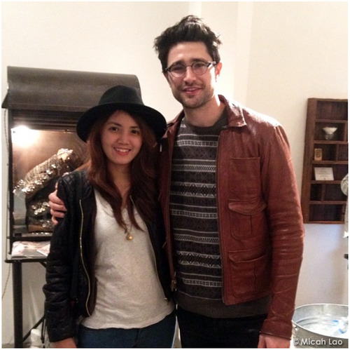 Bumping into Matt Dallas made Micah Lao's night! MDW main site . Twitter . Facebook Page . YouTube Channel . Pinterest
