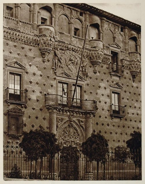 Palacio del Duque del Infantado, Guadalajara, Spain, 1925 photo by Kurt Hielscher