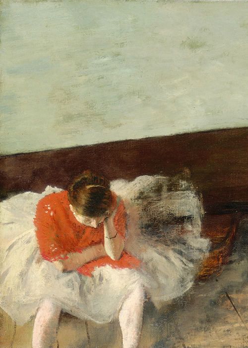 Edgar Degas, The Dance Lesson (detail), 1879 (x)