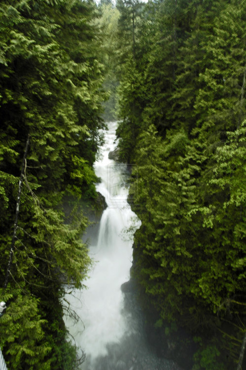 isawatree:  Waterfall - Vancouver by ~DallasP92