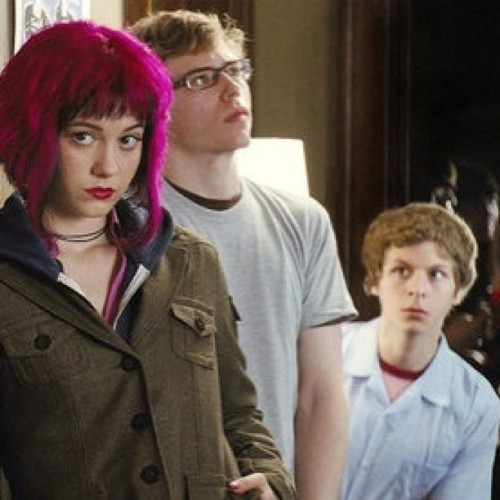 And the he stalked her until she left the party. #scottpilgrim #ramonaflowers #scottpilgrimfans #scottpilgrimvstheworld