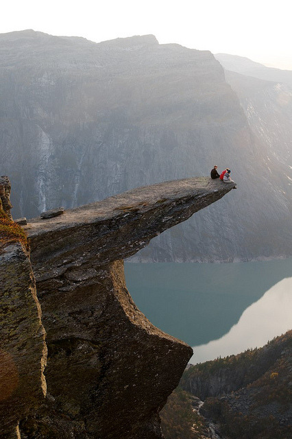 view-earth:  Trolltunga by Algot Kristoffer on Flickr.