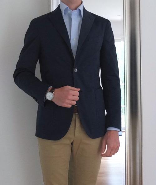 WAYWBoglioli jacket, Kamakura OCBD, Rugger chinos