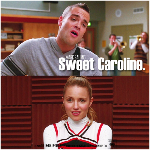 1x08 Mash-Up | Sweet Caroline Alternative Cover