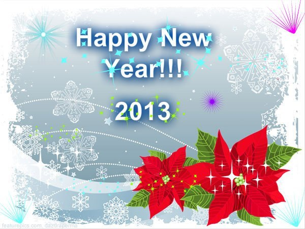 pizap:  HAPPY NEW YEAR from piZap!   Many thanks