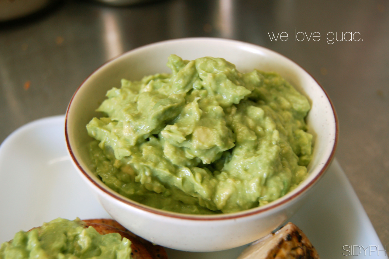 Guacamole is super simple which means it's pretty hard to screw up. But there are thousands upon thousands of variations,  all of which can be considered 'good' (but not necessarily the best). My guac has won many awards including:  'Best Superbowl Dip' & 'Munchie Party Must have of 2010.'  And so what if I made both of those up- It's seriously that good. Follow these simple instructions to improve your guac.  Ingredients:Avocado (3) 3 strips of an onion, diced 1.5 limes 2 cloves garlic, diced S&P  Dirrrrections:Squeeze lime juice into bowl with onion and garlic. Add two grinds of salt.  LEAVE IT FOR TEN MINUTES. Keep waiting, seriously. That's it. That's the secret.  'Cook' the onion and garlic by leaving it in the lime juice and salt for about ten minutes. Now, add your avo and pepper. Maybe more salt if you want, and you're done. NOTE: Do not actually cook the garlic and onion. Just let it sit in the lime juice. This will soften it. ;) Now, Take the party master award for being an epic guac maker. You're welcome.