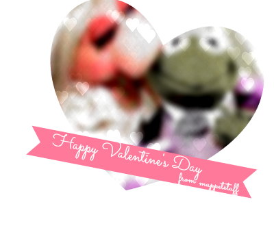 Happy Valentine's Day, lovely Muppet Fans! Sending all of my love to you!