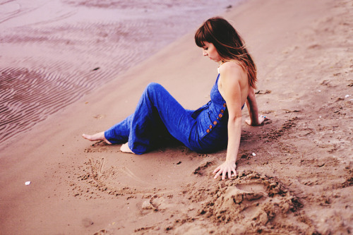 blissbphoto:  Laura // Lake Michigan