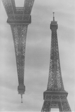 analogeliebe:  700. Double Exposure, Tour Eiffel