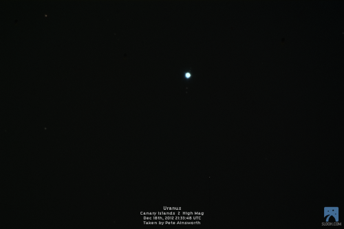 peteuplink:  Uranus imaged using SLOOH's Canary Islands 2 High Mag on Dec 18th, 2012 at 21:33:48 UTC  OOOHHHHHHHHHH