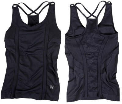 The ACTRA lace-back tank from Lady Foot Locker is blogger tested, and approved!