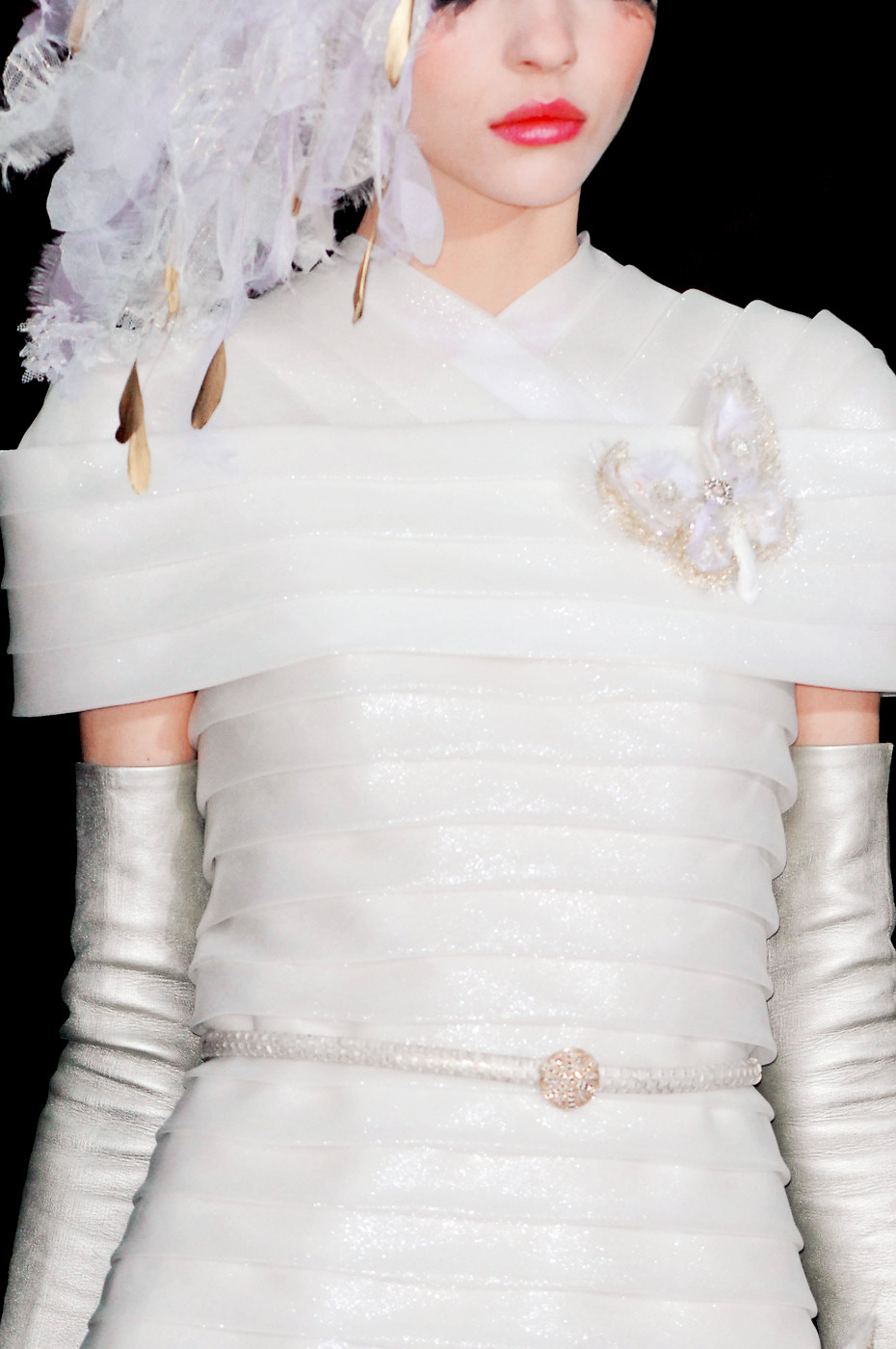 detail at chanel couture spring 2013