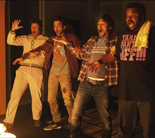 New red-band trailer for This Is The End Apocalypse comedy This Is The End has released a brand new red-band trailer online, featuring Seth Rogen, James Franco, Danny McBride et al preparing for the ending of the world…