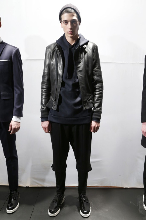 forlovers:    Public School | Autumn/Winter 2013   get out of my face ! god damn it