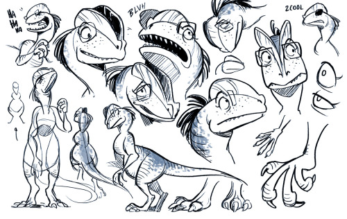 Explorin that dino!persona design dino-sona