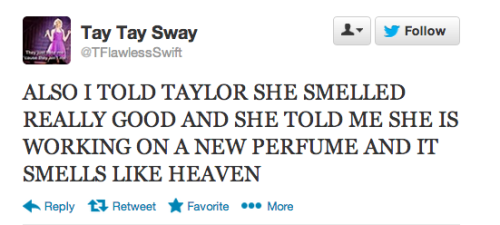 Taylor Swift is working on a new perfume!