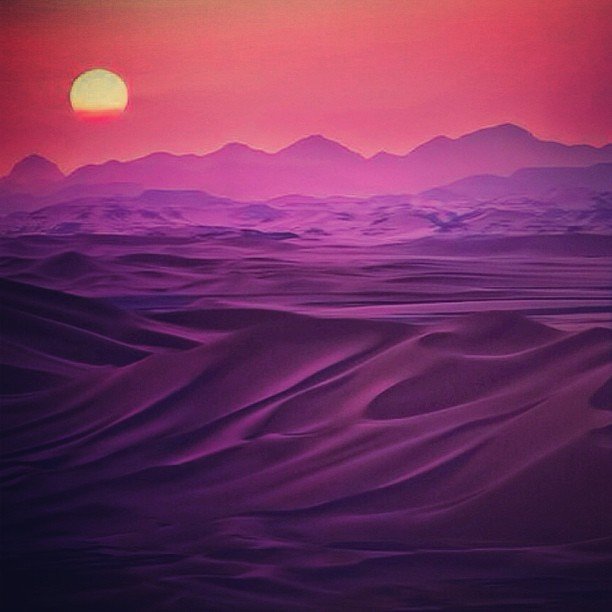 The sun rise | Sahra Desert — by sefayamak > http://j.mp/14ur8v4