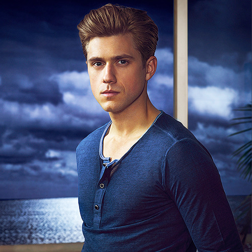 'Graceland' Promotional Photoshoot   for a second I thought someone had morphed Jensen Ackles and Paul Wesley's faces together???