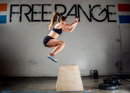 xfitwomen:  Box Jumps: Abbey Barbera  Photo: Matt Wegner