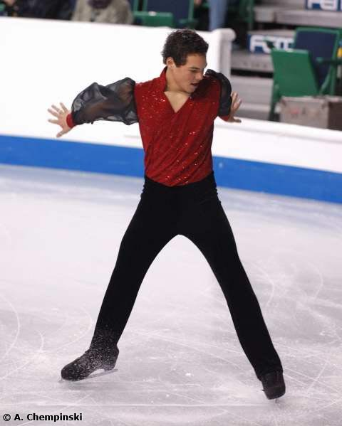 Jamal Othman's long program costume at the 2006 World Championships.