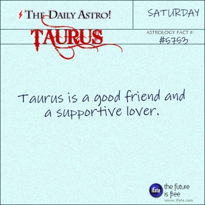 Taurus 5753: Visit The Daily Astro for more facts about Taurus.