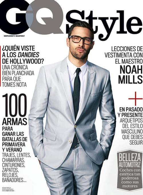 The incredible Noah Mills fronts the cover of GQ Style Mexico. Get a lesson on style from Wilhelmina's elite.