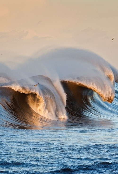 Breaking Wave, Asturias, Spain photo via ide