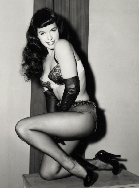 That bettie page tumblr pity, that