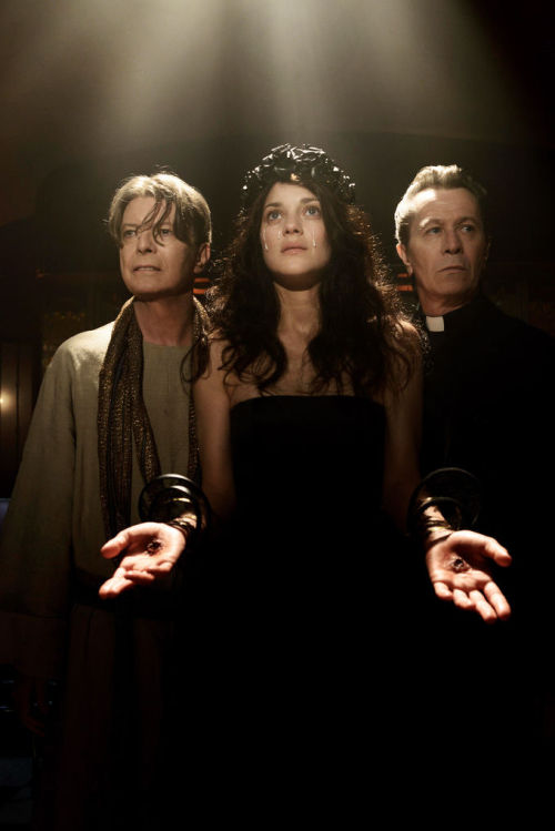 bohemea:  David Bowie, Marion Cotillard & Gary Oldman in David Bowie's video for The Next Day