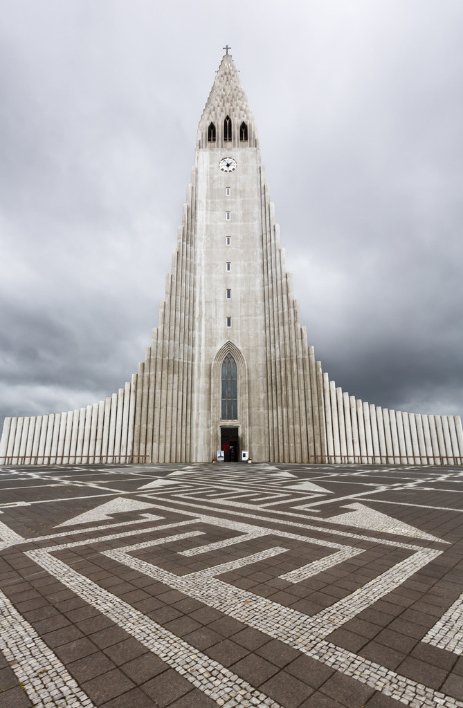 archenland:  Reykjavik Church by Vasilis Tsikkinis