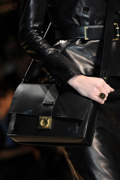 coutureinblack:  Salvatore Ferragamo at Milan Fashion Week Fall 2012