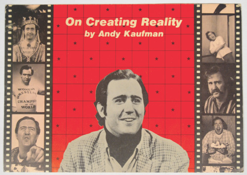 'On Creating Reality by Andy Kaufman' exhibition opens in NYC tonight