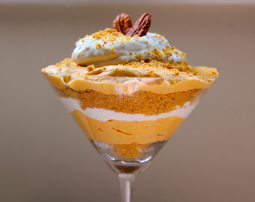 findvegan:  No Bake Pumpkin Cheesecake Parfait  OMG… I need to find this recipe..!