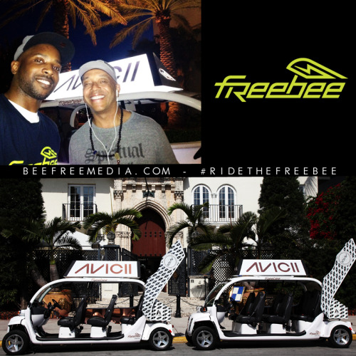 Russell Simmons - He seen it, He liked it, He took a ride in it!! follow the @freebeemiami for free rides on #SouthBeach #RideTheFreeBee