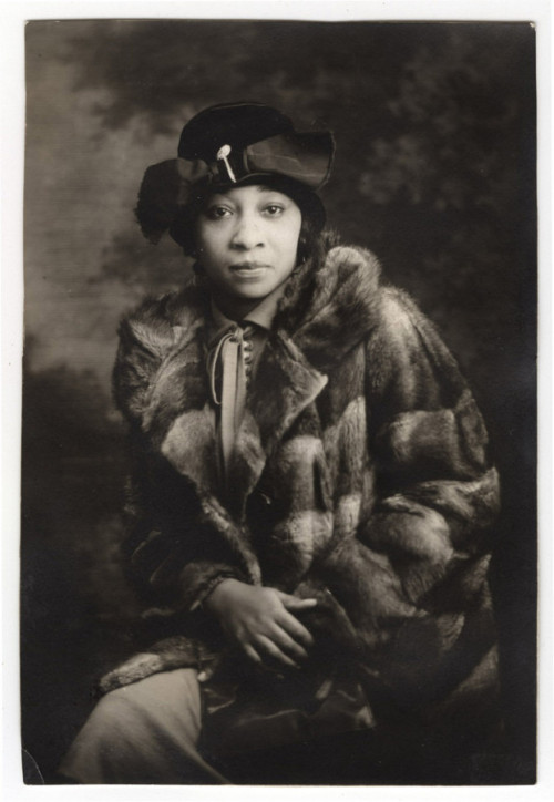 "Nora Douglas Holt, ca. 193 (by Unidentified Photographer)  During the roaring 1920s, Nora Holt was a scandalous socialite and party girl, as exemplified by her five marriages and countless lovers… Immensely talented, Holt was a musician and singer who composed over 200 pieces. In 1918 she was the first African American woman to earn her master's degree from Chicago Musical College. A major player during the Harlem Renaissance, she was the rich ""it"" girl of Harlem society."