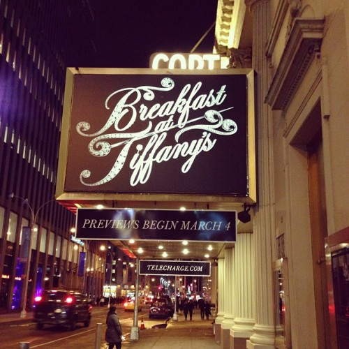 #nyc (at Cort Theatre)