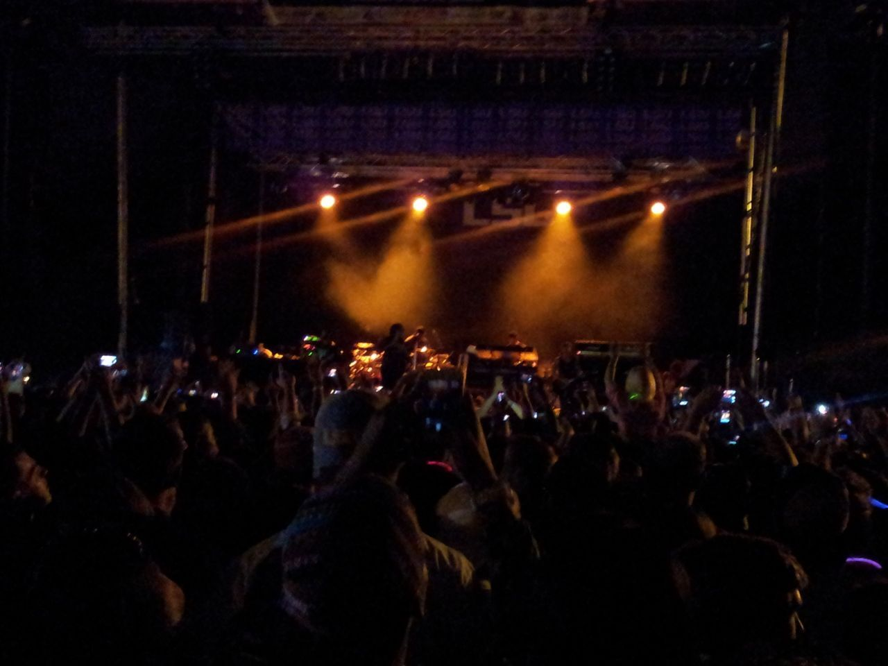 Lupe Fiasco played at LSU for Groovin' on the Grounds last night.