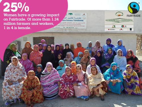 "The women of the Tighanimine Cooperative  The fact that Agadir in southwest Morocco has an abundance of argan trees was not lost on a group of village women in a literacy class organized by Nadia Fatmi. They also knew that their region was very poor, and they had no means of generating income for themselves. Given that argan trees only grow in that part of the world, and that the oil had been a staple in homes in the village for some time, the women in Fatmi's literacy class decided to do something to lift themselves out of poverty. In 2007, they started the world's first argan oil cooperative - Tighanimine - which became Fairtrade certified in 2011. ""It is the ancestral work of women in the south of Morocco,"" says Tighanimine spokeswoman, Afafe Daoud. ""They are the only ones who can break the fruit and extract the oil."" Argan oil has become a key ingredient of luxury cosmetics, and quickly found markets around the world. By forming a cooperative, the 60 women farmers of Tighanimine challenged a long-standing tradition in their area that a woman's husband or father was the sole bread-winner. ""They were financially dependent on men, one hundred percent"" says Daoud. Initially, the men resisted the women's initiative – that is, until the extra money started to come in. ""Little by little, when they began to see the economic benefits, they became more cooperative and even encouraged other women to join the cooperative,"" Daoud recalls.. Tighanimine's Fairtrade volume remains relatively low, but the cooperative was recently licensed to sell their argan oil with the FAIRTRADE Mark. They have developed their own brand called Tounaroz and plan to sell in Morocco, France, Germany, Italy, Japan, Spain, and the USA. Moving up the value chain ensures that even more benefits reach the women in the cooperative. In addition to developments on the market side, the cooperative was given an award by the Moroccan Network for Social and Solidarity Economy and the Pan-African Institute for Development for its work in good governance and economic development. And, Fatmi has since been elected to the chair of Fairtrade North African Board. Daoud says it's easy to see some of the effects Tighanimine has had on the women – such as nicer clothes for themselves or their children, or households that are better maintained. Other benefits, says Daoud, are less obvious. ""Women who work in the cooperative began to have more confidence in themselves, because they feel important in their home."" Read more stories of Fairtrade women in our piece celebrating Internationa Women's Day last Friday."