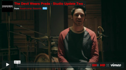 Video Premiere: The Devil Wears Prada studio update #2