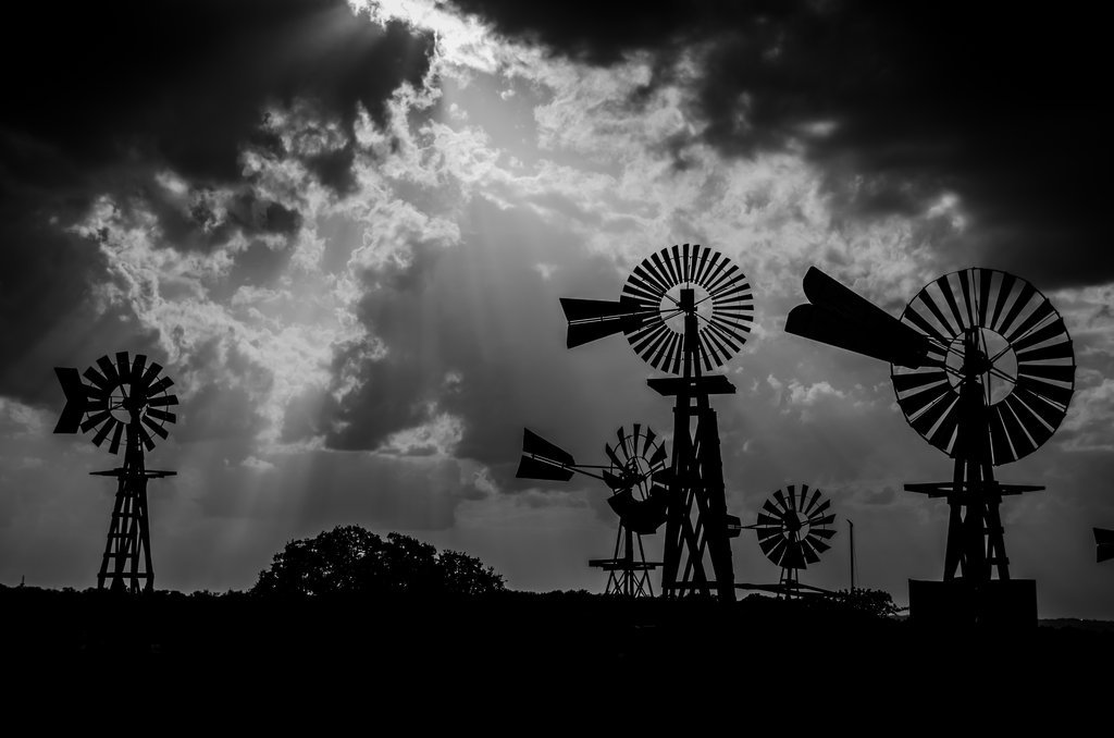 The Windmills of Tolar Aiken-Photo