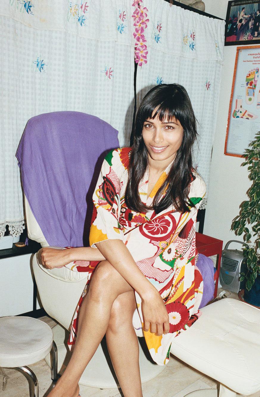 Frieda Photograph by Juergen Teller; styled by Zoe Bedeaux; W magazine February 2013.