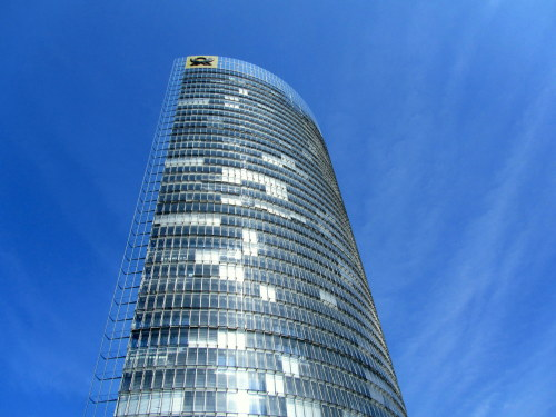 sbk5 submitted:  This is the Post Tower. It's a 162.5-metre, 41-storey office building in Bonn Germany.  I was there last month and I was lucky to enjoy (as visitor) the amazing view from the the 38 floor. The Tower is the ninth tallest skyscraper in Germany and won the 2002 Silver Emporis Skyscraper Award.   Thanks for submitting!