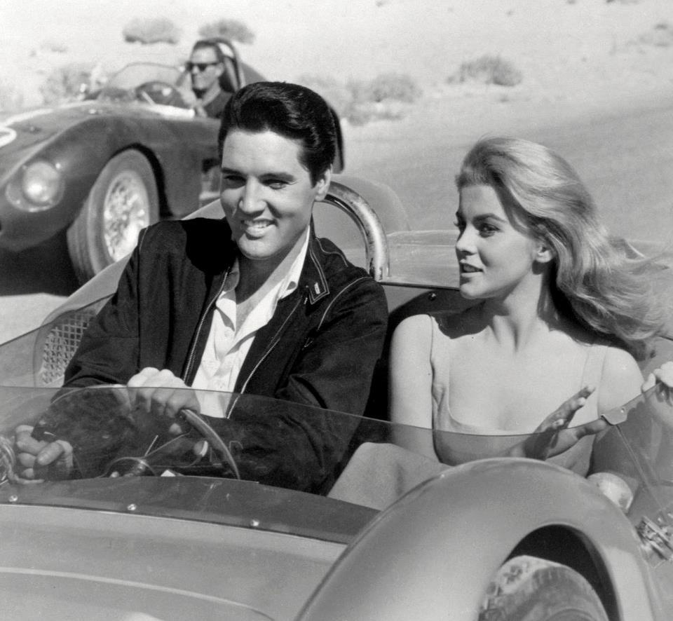 gibsart:  Elvis and Ann Margret