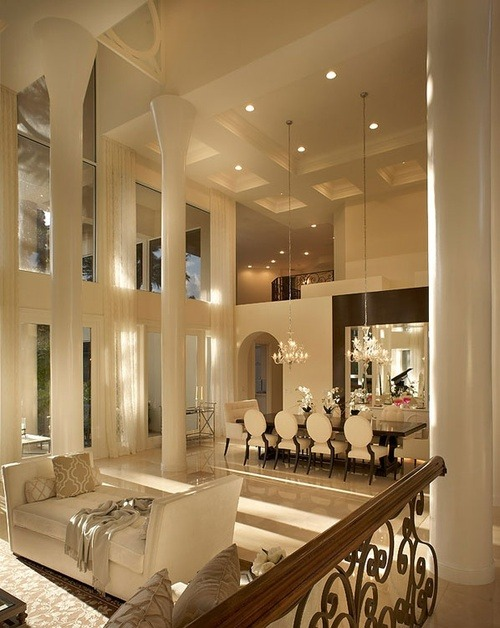 iamfuckingglamorous:  My future living room! xo