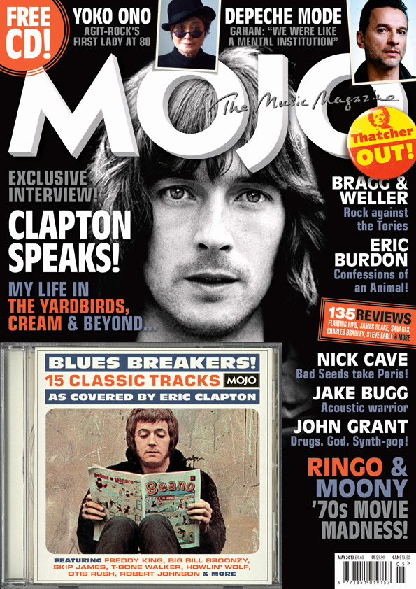 The new issue of MOJO is out tomorrow! Starring Eric Clapton, Yoko Ono, Stephen Stills, Jake Bugg, Depeche Mode, John Grant, Deerhunter, Nick Cave, Eric Burdon and much more.