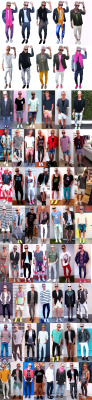zacktanck:  2012, a year in outfits. Style constantly evolving. Let's go, 2013! XXZT  every man can learn a little something from Mr. Tanck!
