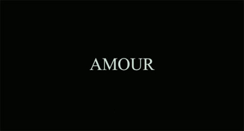 Amour, 2012 Yet another Haneke masterpiece. I really hope that this wins all 5 awards at tonight's Oscars